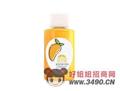 益可滋复合芒果汁饮料350ml瓶装