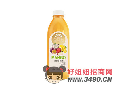益可滋复合芒果汁1118ml