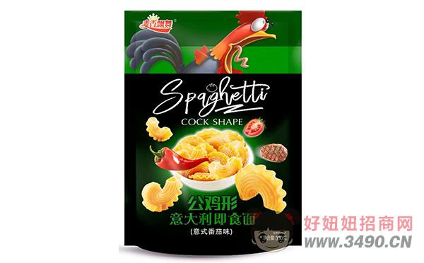 麦香飘舞公鸡形意式番茄味意大利即食面350g