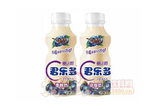 君乐多蓝莓味乳酸菌饮品340ml