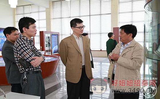 清华大学新能源技术专家来土老憨集团洽谈合作