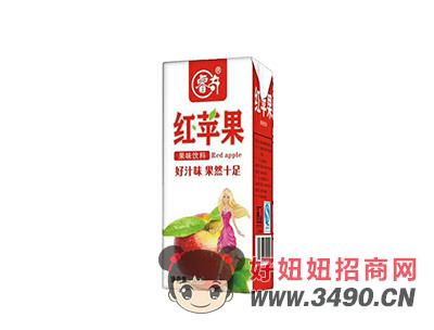 睿奇红苹果果味饮料250ml