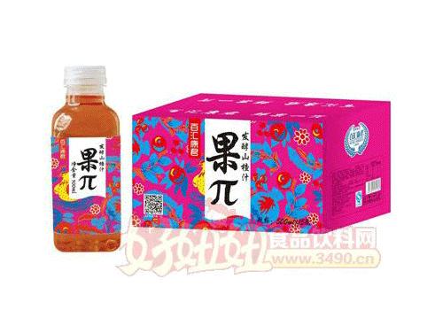 百�R康君果π�l酵山楂汁500mlx15瓶