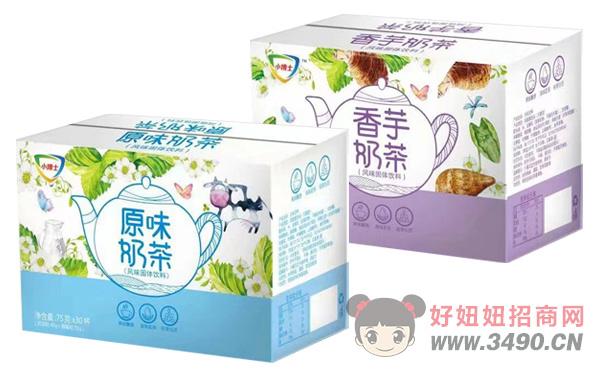 小博士香芋奶茶、原味奶茶75g×30杯