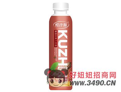 酷汁源樱桃苹果复合果汁饮料500ml