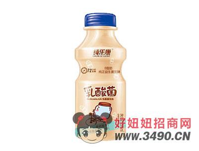 纯乐康72小时发酵乳酸菌饮品340ml