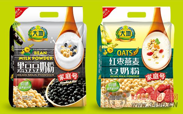 大地家庭号红枣燕麦、黑豆豆奶粉628g