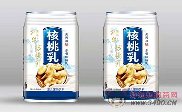 精品升级核桃乳复合蛋白饮品