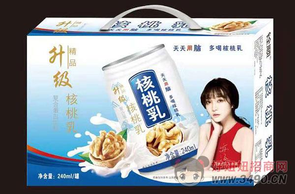 精品升级核桃乳复合蛋白饮品礼盒