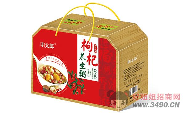 明太郎低糖型桂圆莲子养生粥礼盒