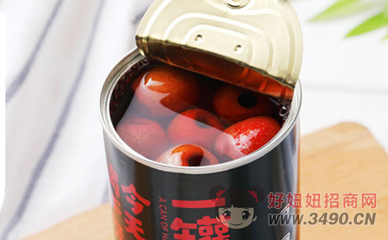 芝麻官山楂罐头