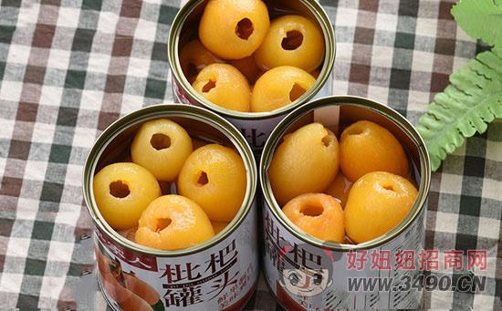 果家人枇杷罐头
