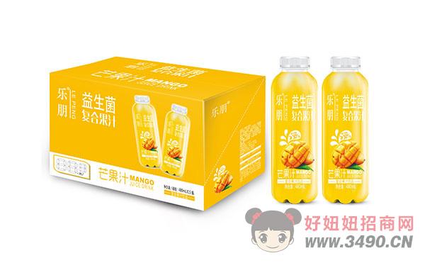 乐朋益生菌复合果汁芒果汁