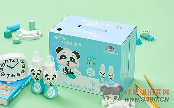 爱心牛宝宝小贝原味儿童成长型乳饮品200ml×20瓶礼盒