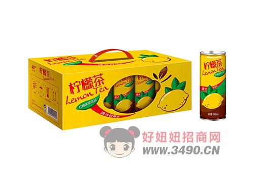金羽柠檬茶饮品礼盒