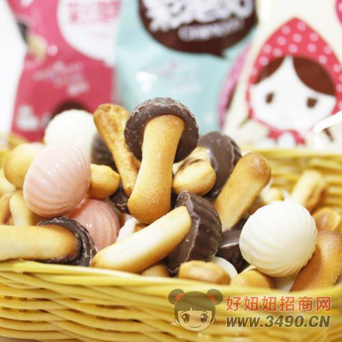 巧克力蘑菇饼干