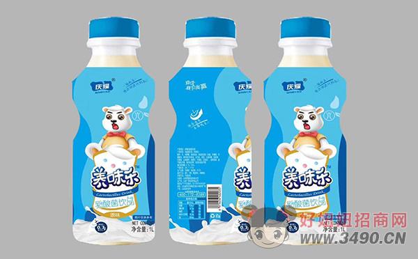 庆耀养味乐乳酸菌饮品1L