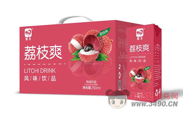 荔枝爽风味饮品250ml