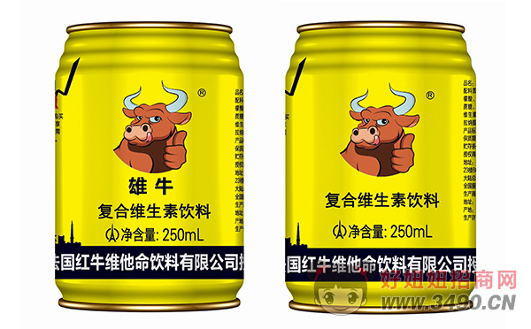 雄牛复合维生素饮料250ml