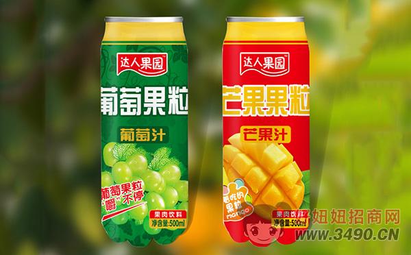 达人果园葡萄果粒、芒果果粒