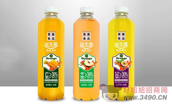 惠康益生菌发酵果汁1.25L
