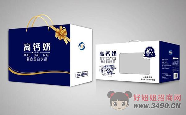 纯美滋无蔗糖高钙奶复合蛋白饮品250ml×12盒