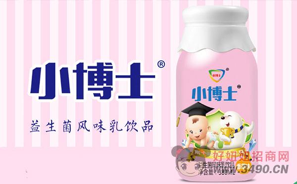 小博士香草味益生菌风味乳饮品380ml