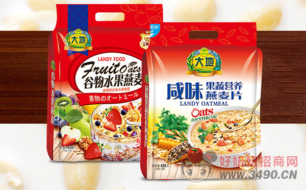 江苏大地燕麦片