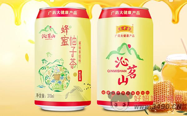 沁名山蜂蜜柚子茶果味茶饮料