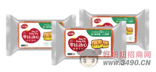 开口福红枣蛋糕