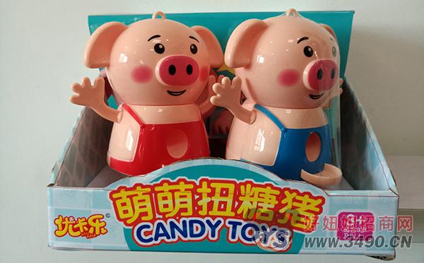 优卡乐萌萌扭糖猪儿童玩具
