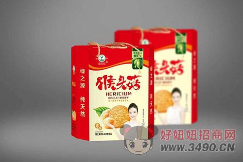 绿之源猴头菇饼干