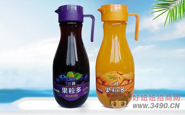 三峰果粒多果粒果汁1.5L