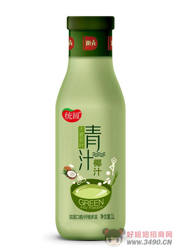 统园青汁椰汁