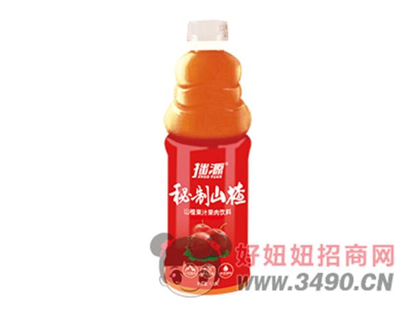 山楂果肉饮料