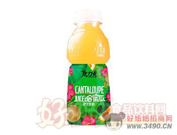 龙力卡哈蜜瓜果汁饮料390ml