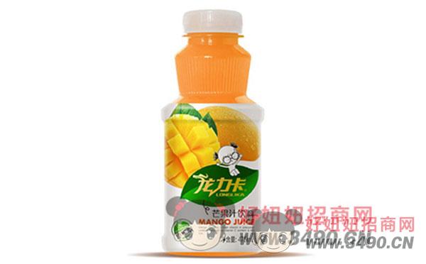 龙力卡芒果汁饮料475ml