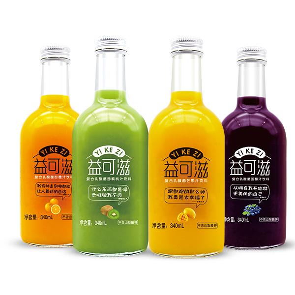 益可滋玻璃瓶发酵酸奶饮品