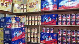 北京香飘飘产品货架