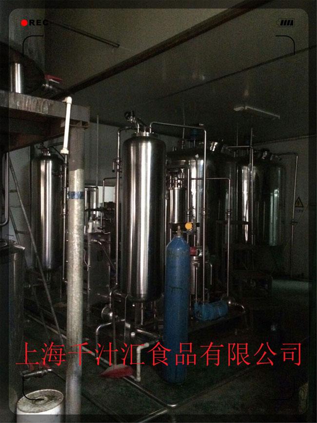 上海千汁汇食品有限公司生产设备