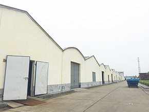 湖南洞庭仙草食品有限公司厂区一角