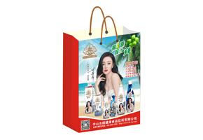 椰明珠椰子汁手提袋