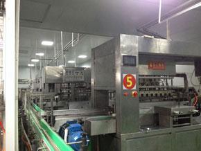 广州市花都区花果食品饮料厂生产机械展示图