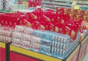 中山市爱儿乐食品有限公司产品超市摆放
