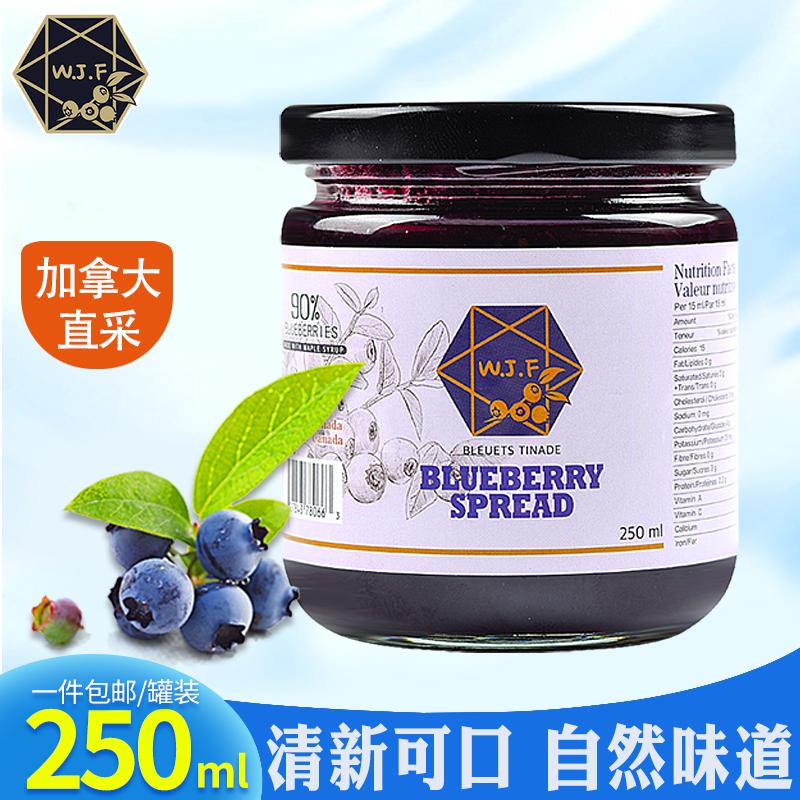 加拿大进口原瓶蓝莓果泥