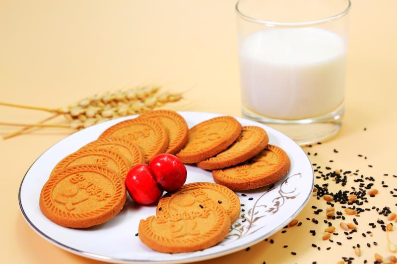高纤膳食麦麸饼干(无糖)