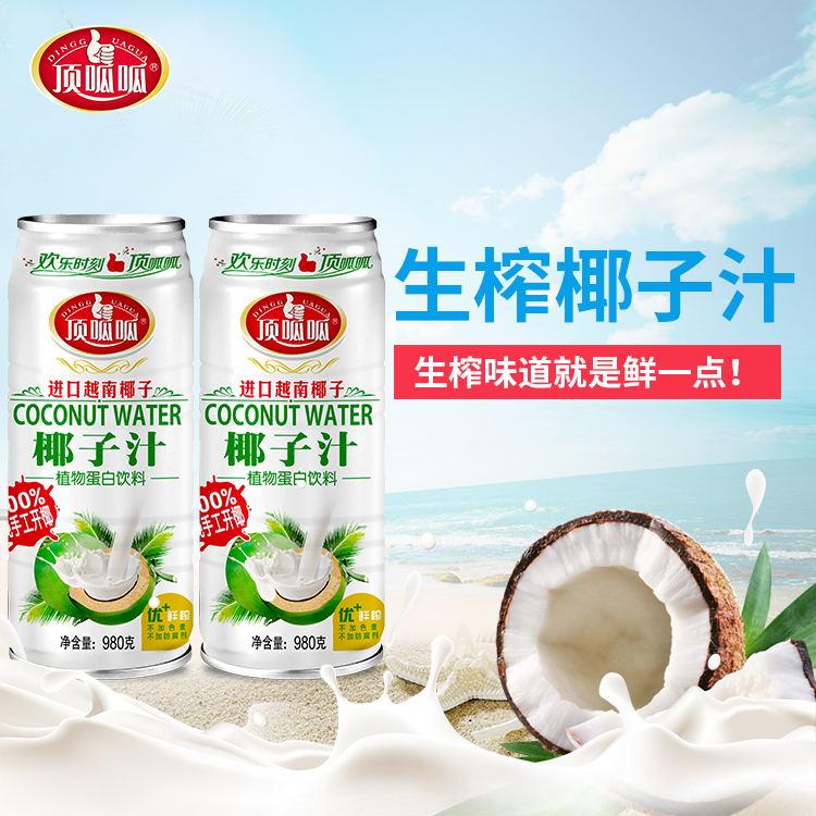 宴席生榨椰子汁�品980ml招商