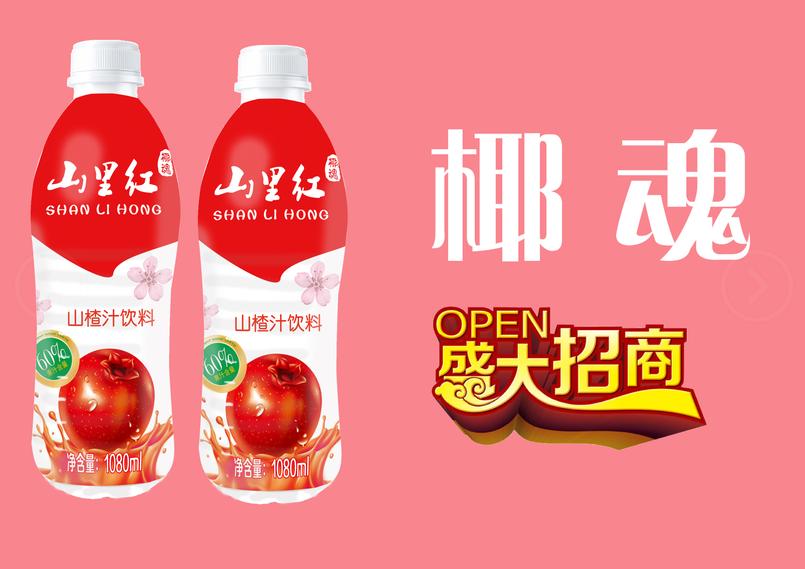 椰魂山里红复合果汁