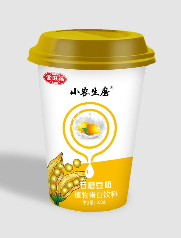 餐饮用杯装豆奶480ml*24批发