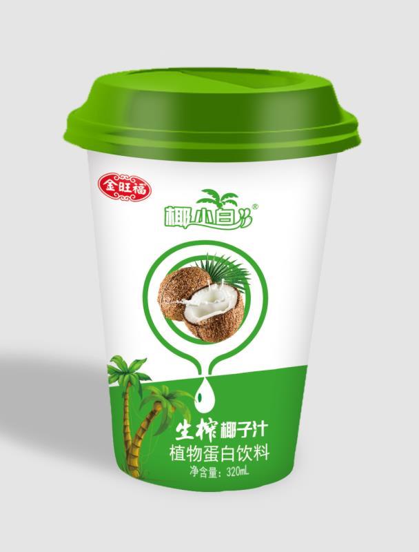 健康饮品杯装椰子汁饮料代理